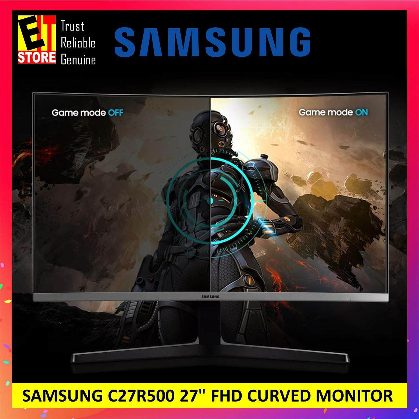 SAMSUNG 27 CURVED LED MONITOR WITH STYLISH MODERN DESIGN (LC27R500FHEXXM / LC27F591FDEXXM) Malaysia