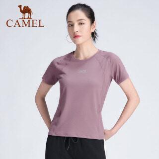 Cameljeans Thể Thao Phụ Nữ T-Shirt, Áo Thun Nữ Ngắn Tay Ôm Thoáng Khí Mùa Hè, Cho Nữ thumbnail