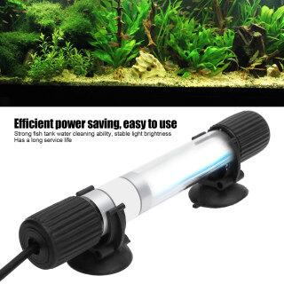 khuyến mãi lớn Đèn UV Chìm Trong Bể Cá, Bể Cá Bể Cá Nước Thanh Lọc Tảo Sạch Ánh Sáng, Phích Cắm EU 220V 5W thumbnail