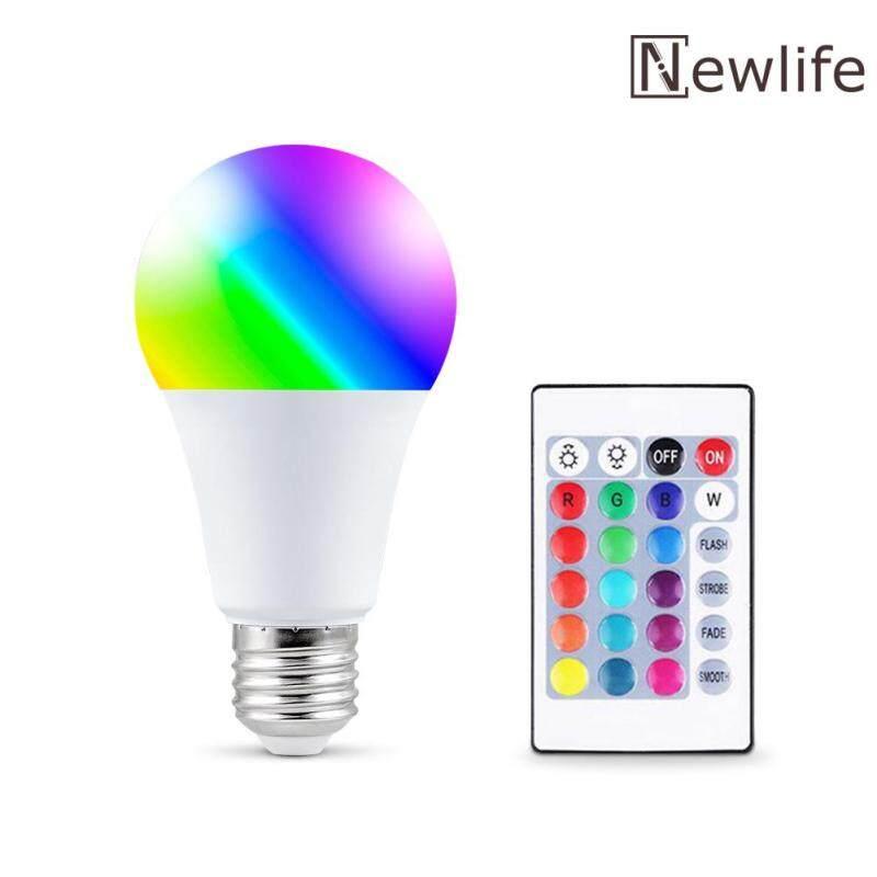Led RGB bulb E27 đầy màu sắc Dimmable ánh sáng kỳ nghỉ Đảng bar trang trí nhà đêm đèn