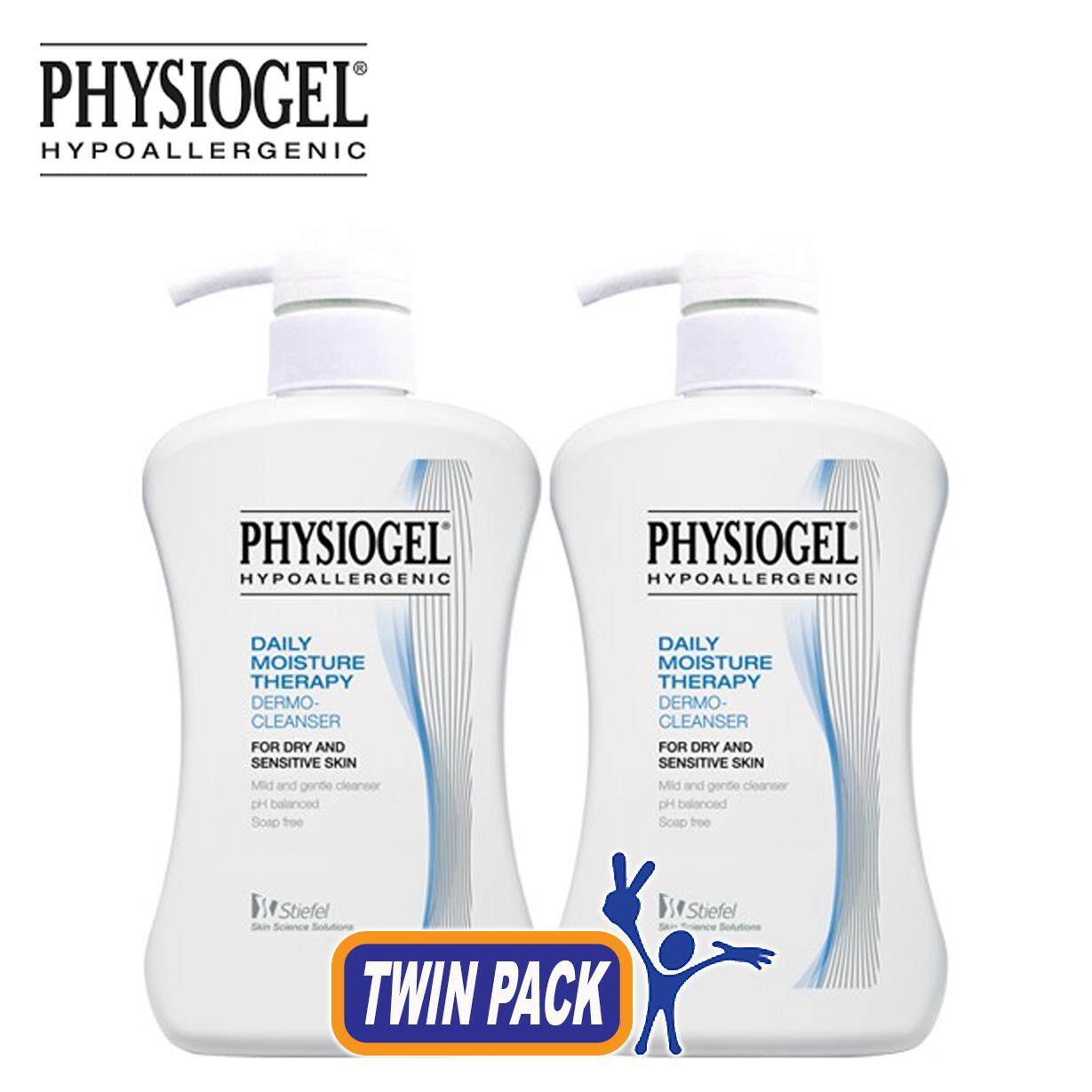 Physiogel Daily Moisture Therapy Dermo-Cleanser - 500ml X 2 [twin Pack] By Care Store.