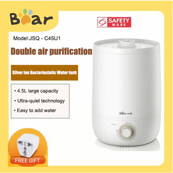 Bear JSQ - C45U1 Cool Mist Air Humidifier 4.5L Large Capacity Mute Fog Creator Singapore
