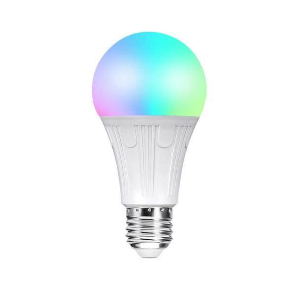 V12 Smart WI-FI L-ED Bulb RGB+W L-ED Bulb 11W E27 Dimmable Light Phone Remote Control Group Control Compatible with Alexa Goo-gle Home Tmall Genie Voice Control Light Bulb