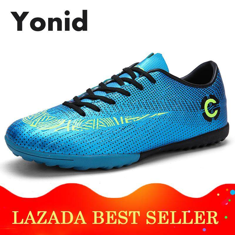 c7412116e0a Yonid Boy s Size 32-45 Futsal Shoes Soccer Shoes Men Football Shoes Sneakers