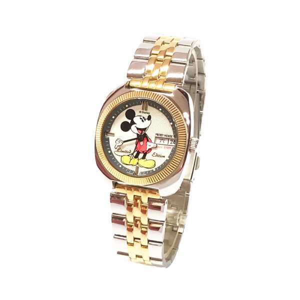 Disney Mickey Mouse Limited Edition Stainless Steel Watch MSRC66-01B (White) Malaysia
