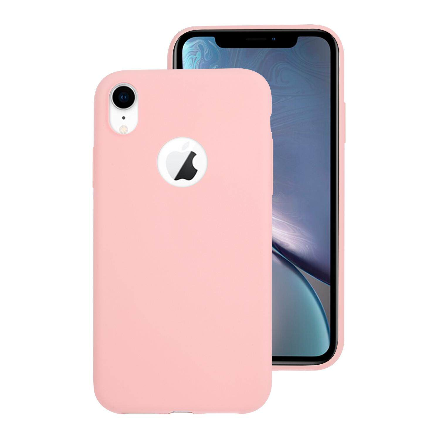 iPhone XR Case Macaron Candy Icecream Color Series Original Soft Silicone Mobile Phone Case for iPhone