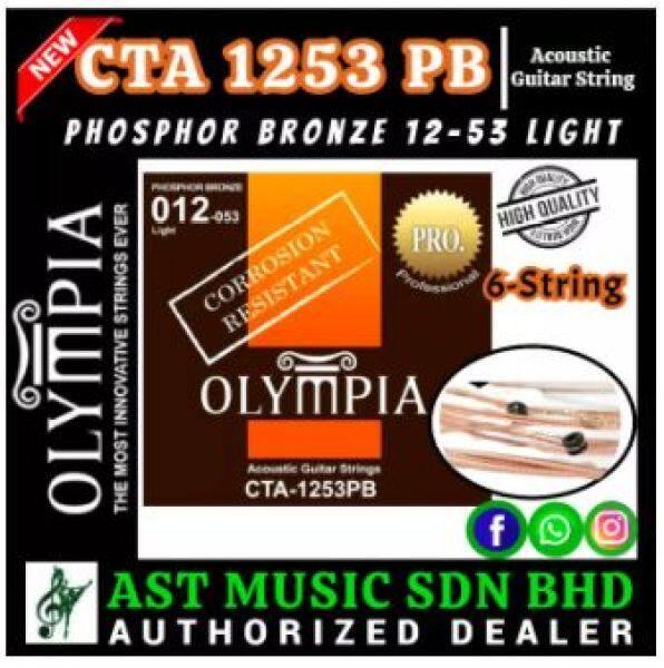 Olympia CTA1253 PB Acoustic Guitar String / CTA-1253 / Cta1253 Malaysia