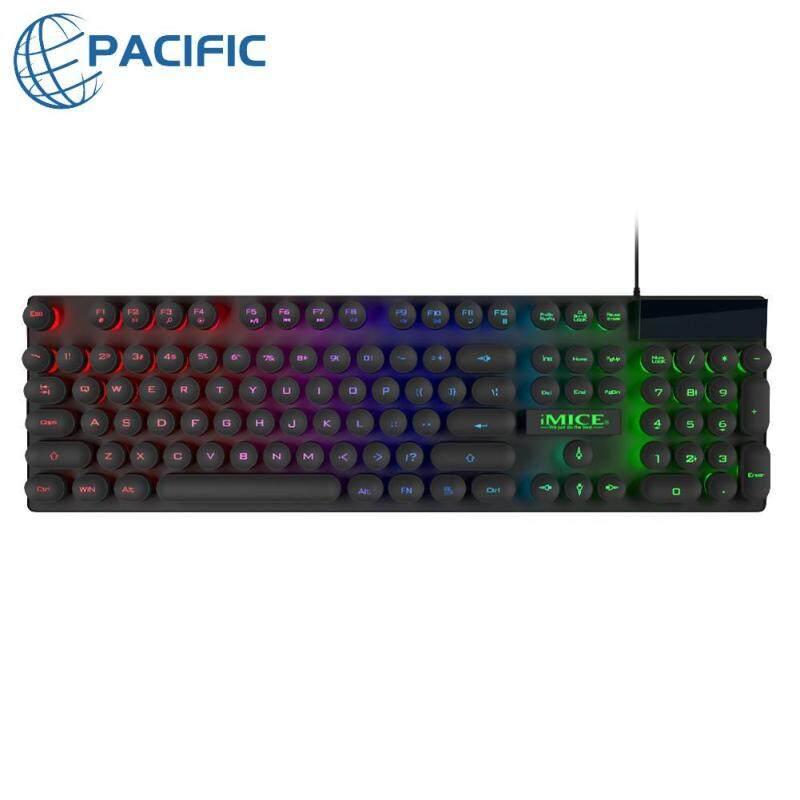 IMICE AK-800 USB Wired Mechanical Feeling 104 Key RGB Backlit Game Keyboard Singapore