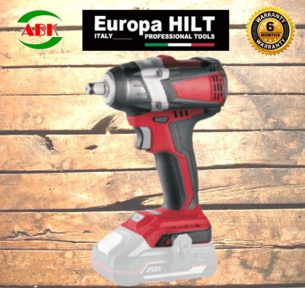EUROPA HILT EBL20IW 20V CORDLESS IMPACT WRENCH (SOLO)