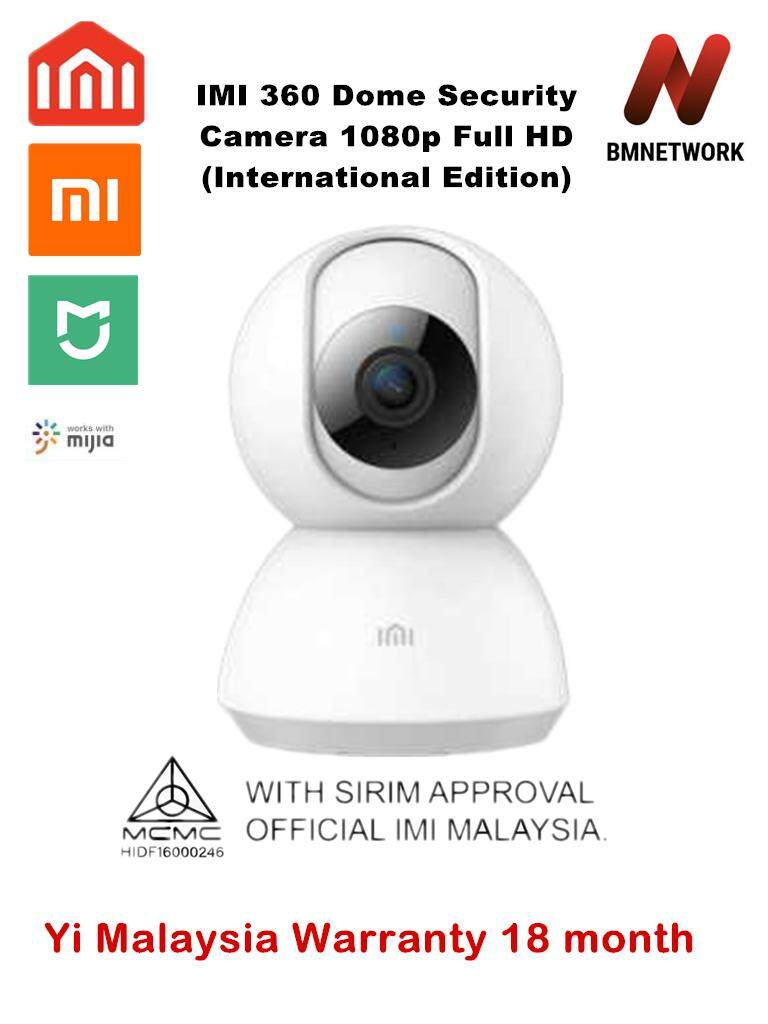 Imi Home Security Dome Camera 360° 1080p By Bmnetwork.