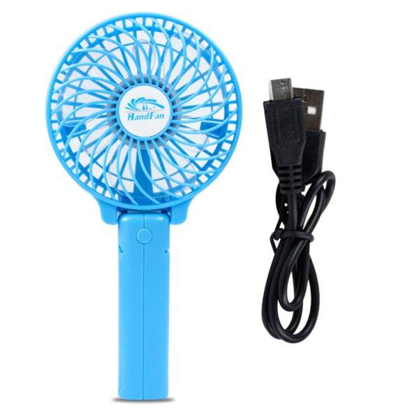[Clearance Promo] New Mini 3 Gear Speed USB Handheld Batery Rechargeable Multifunctional Fan Singapore