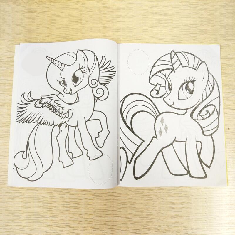 20x27cm 16 Halaman Pony Coloring Book Buku Stiker Anak Buku Mewarnai Buku Lukisan Gambar Art 2 Cover Pola Lazada Indonesia