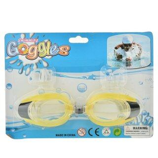 Badao Kính Bơi UV Chống Sương Mù Mới, Kính Có Thể Điều Chỉnh Với Kẹp Mũi + Tai ST thumbnail