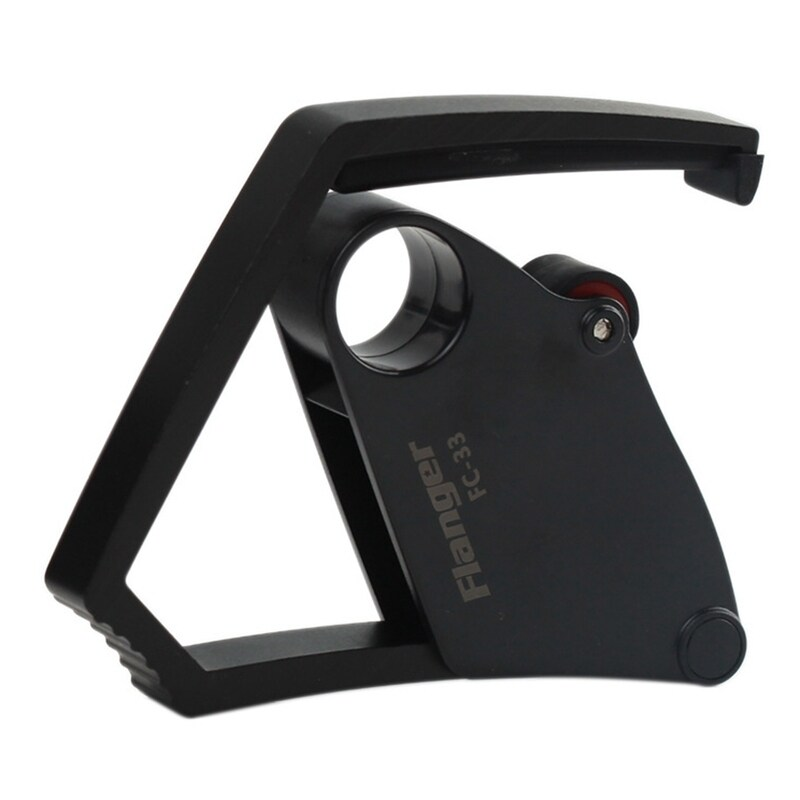 Flanger FC-33 Mechanical Structure Acoustic Electric Guitar Capo Quick Change Clamp Aluminium Alloy+3 in 1 Gift