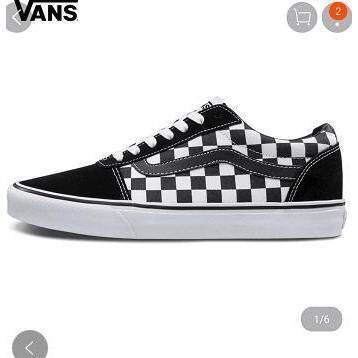 aa0b92c95a3 VANS Genuine OLD SKOOL Anaheim Checkerboard Low top Men and women shoes  Shoes