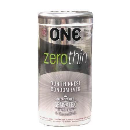 ONE CONDOM ZEROTHIN 12S