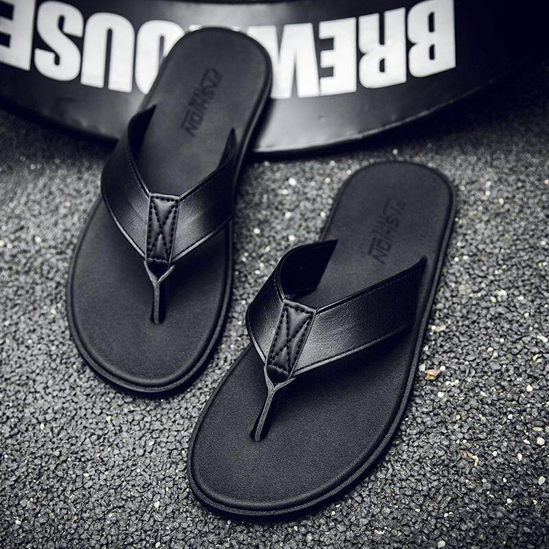21d114721 New Arrival Summer Men Flip Flops High Quality Beach Sandals Non-slide Male  Slippers Zapatos