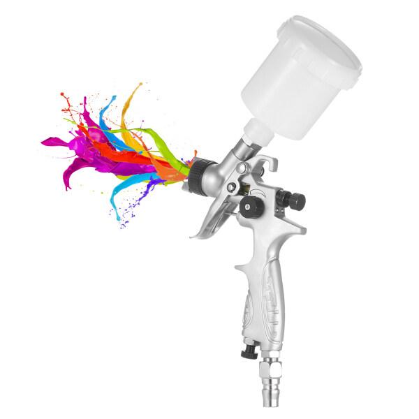 Keykits- HVLP S-Hãy Cầu Nguyện G-Un Trọng Lực-Thức Ăn Airbrush Máy Phun Sơn Không Khí Với Vòi Phun 1.0Mm, Cho Đồ Nội Thất Xe Hơi Phun Sơn