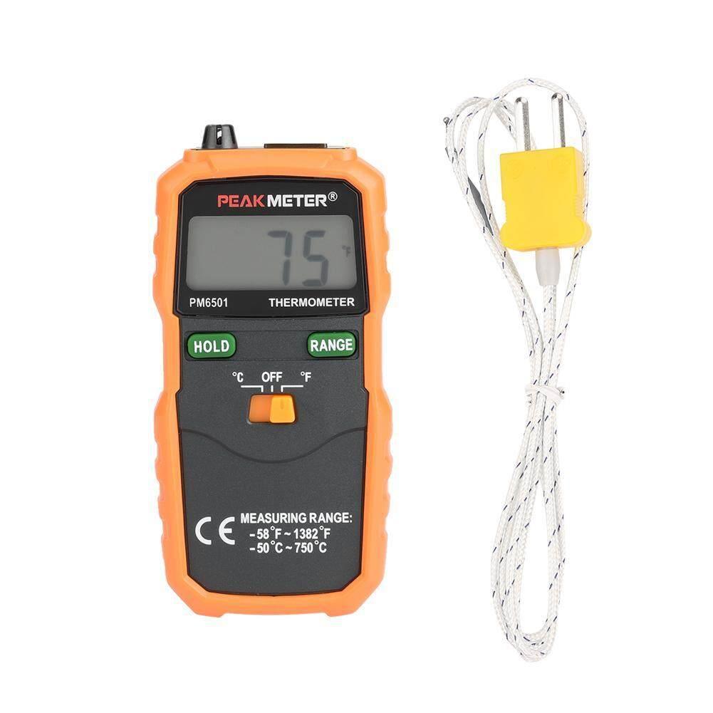 Qianmei PEAKMETER PM6501 K Type Digital LCD Temperature Thermometer Testing Tool