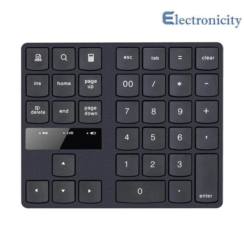 2.4G Wireless Mini Digital Keyboard 35 Keys Rechargeable Laptop Numeric Keypad 145x120x19mm Singapore