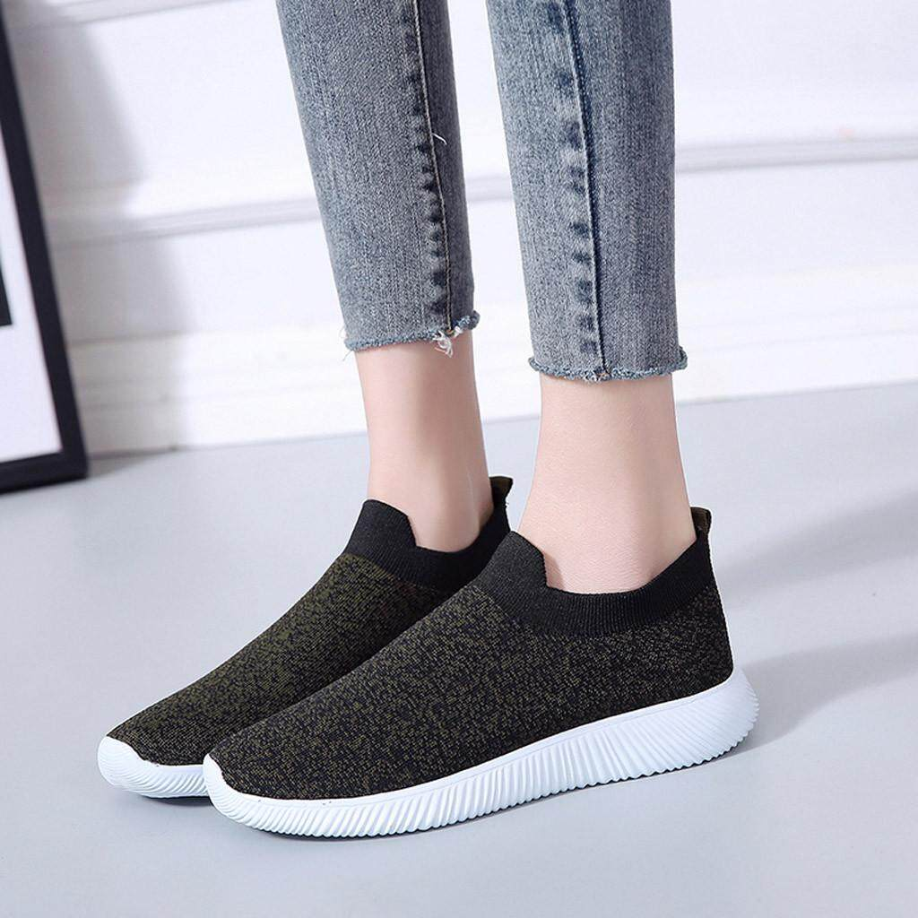 b4786509ca Genmoment Fashion Women Outdoor Mesh Casual Sports Shoes Runing Breathable  Shoes Sneakers