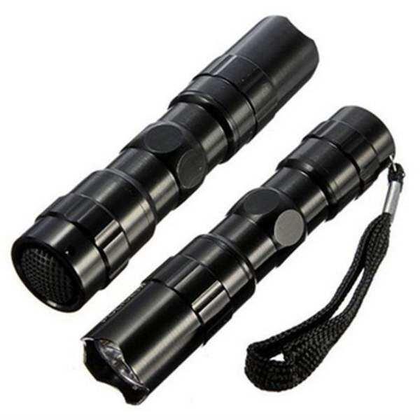 1 * Đèn Pin Mini Chống Nước Ánh Sáng Đèn Siêu Sáng Đèn Pin LED Cắm Trại Đi Bộ Đường Dài Ngoài Trời Thể Thao Di Động