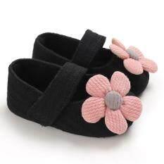 Giày Công Chúa Prewalker Cho Bé Gái, Đế Mềm Hình Hoa Dễ Thương Cho Trẻ Em Em Bé Mới Biết Đi