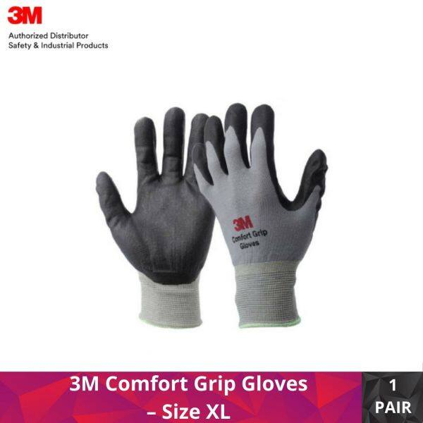 3M Comfort Grip Gloves – Size XL (Pack of 1 Pair)