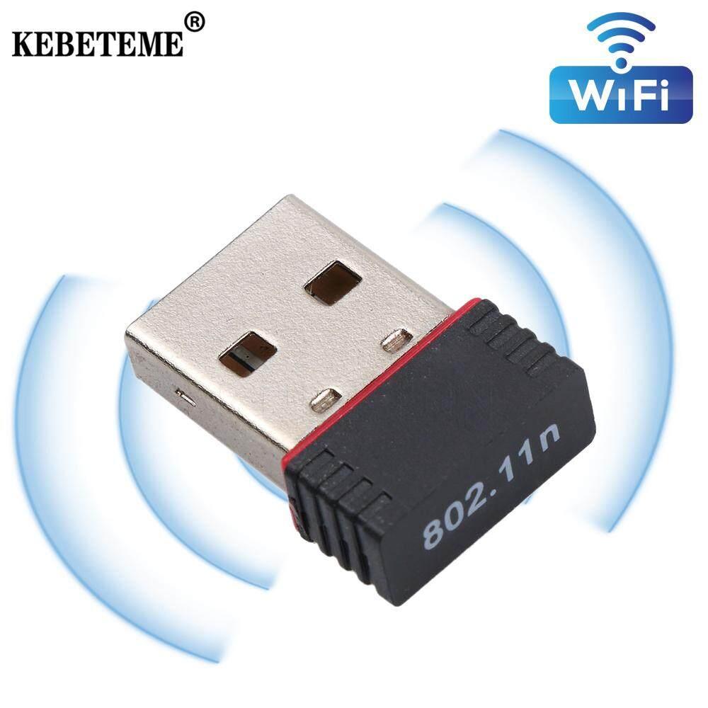 Giá Kebeteme USB 2.0 Wifi Không Dây 150Mbps Card Mạng LAN Phát 802.11n/B/G 150Mbps ethernet Wifi Cho PC Laptop Máy Tính Để Bàn