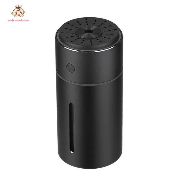 Mini Car USB Air Humidifier Aroma Essential Oil Diffuser Cool Mist Maker with LED Light Singapore