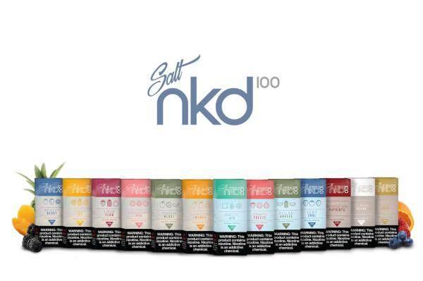 GENUINE Salt Nkd 100 E-Liquid (10/30ml) USA E-Liquid E-Juice Flavor Vape E-Cig Pod Malaysia