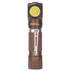 Màu Mới Sofirn SP40 Đèn Pha LED Cree XPL 1200lm 18650 Đèn Pha Sạc USB 18350 Đèn Pin Với Nam Châm Đuôi