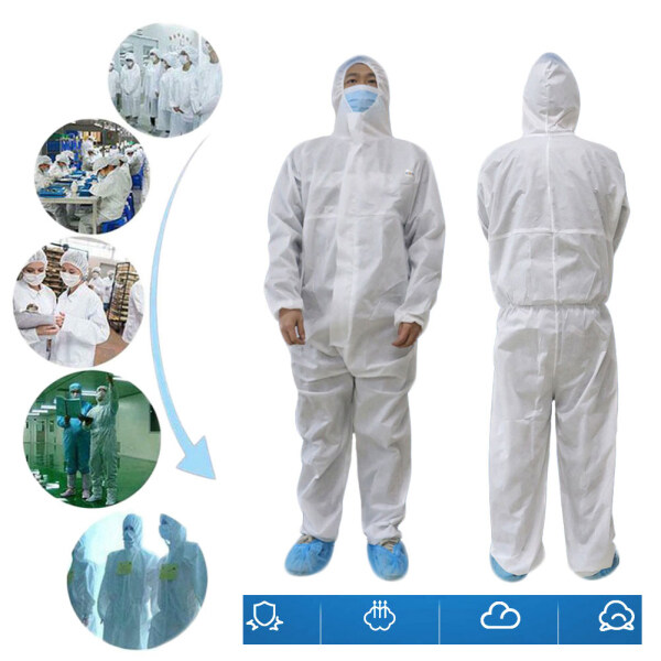caosu® Disposable Clothing Factory Hospital Safety Coverall Protection Isolation Suit