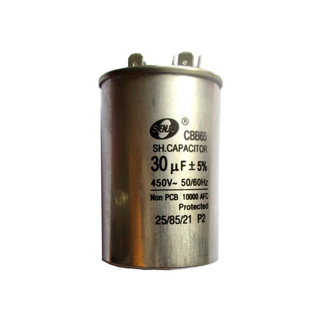 Blesiya Motor Run Capacitor, 30uF, 450VAC