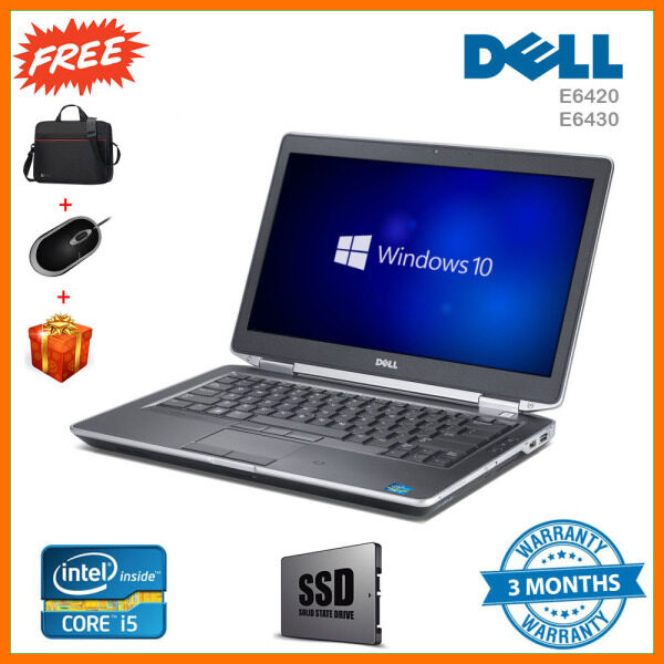 Bajet Laptop | Student / Office Use | Murah Sale | Dell Latitude e6000 Series | Core-i5 | 4GB (upto 8GB) Memory | 320GB HDD/SSD | WiFi  | WebCam | Windows 10 Pro | MS-Office | 3 Months Warranty | FREE GIFTS Malaysia