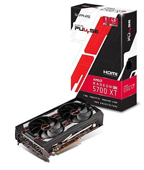 SAPPHIRE VGA RX5700XT 8GB GDDR6 PULSE OC RX 5700 XT FREE USB3 0 FLASH DRIVE  32GB