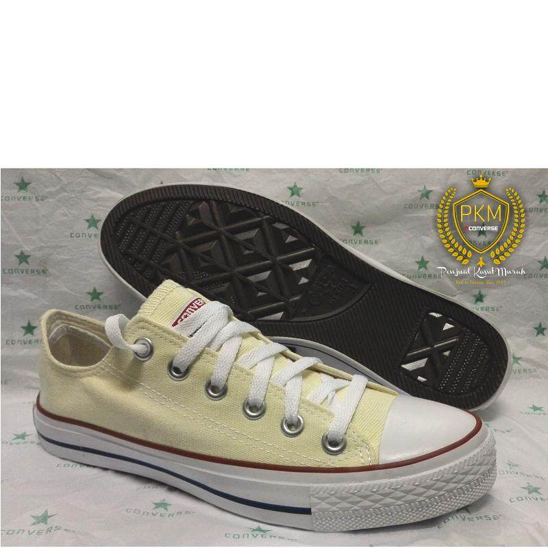 beca5a91 READY STOK - KASUT/SHOES CONVERSE CLASSIC CHUCK TAYLOR ALL STAR LOW CUT -  CREAM