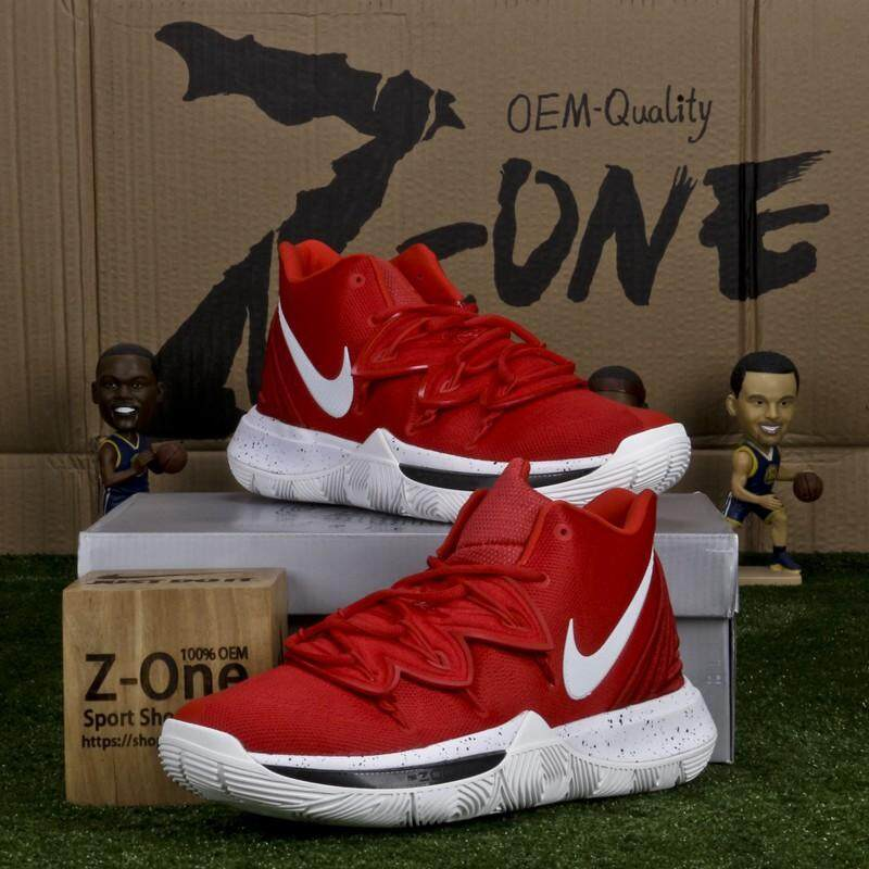 305690e9aa14 NIKEE KYRIE 5 EP Basketball shoes For men Red White Men s women s casual  sports running