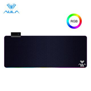 Tấm Lót Chuột AULA F-X5 Chơi Game Chuyên Nghiệp, Tấm Lót Chuột RGB Chiếu Sáng Máy Tính Để Bàn Máy Tính Xách Tay Cỡ Lớn thumbnail