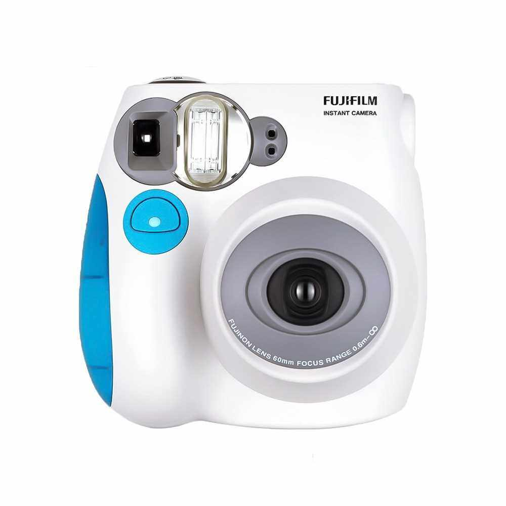 Fujifilm Instax Mini7s Instant Camera Film Cam (Blue)