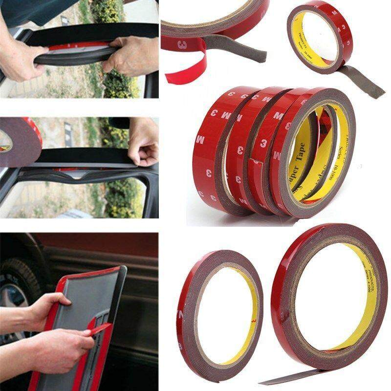 3m Strong Permanent Double-Sided Adhesive Glue Tape Super Sticky For Vehicle Car By Erui.
