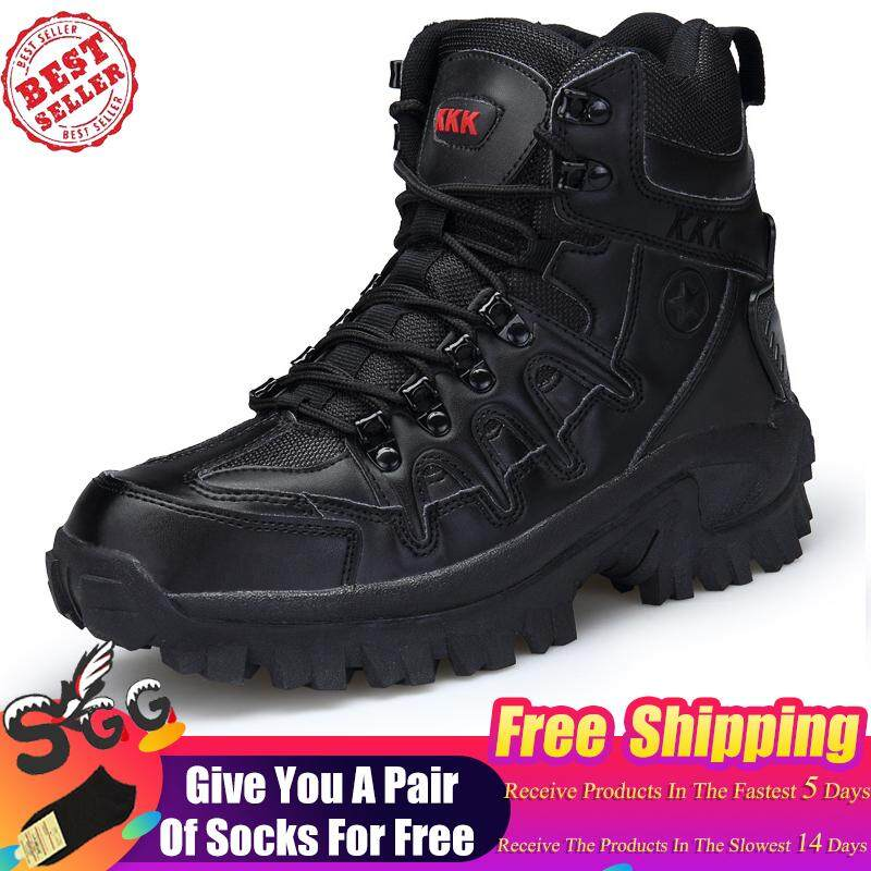 3bce621dd690 2019 Free Shipping Men Boots Boots Military Tactical Big Size Army Bot Male  Shoes Combat Safety