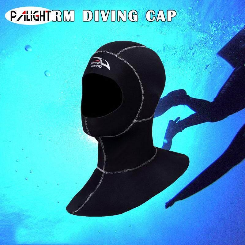 PAlight 3MM Neoprene Lặn biển Hood với Vai Lặn Mũ Trùm Đầu - 4