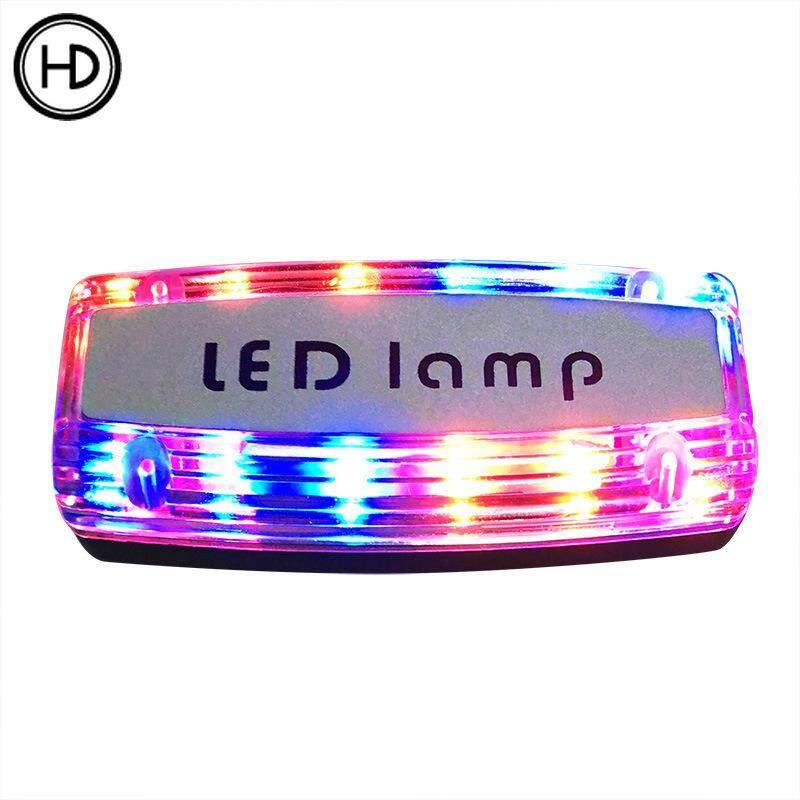Rechargeable LED shoulder light safety signal light warning shoulder light traffic patrol