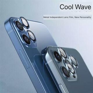 Vỏ Bảo Vệ Ống Kính Máy Ảnh 1 Pce, Cho IPhone12 11 PRO 12 11Pro Max Nắp Ống Kính Màng Kính Cường Lực Độ Nét Cao thumbnail