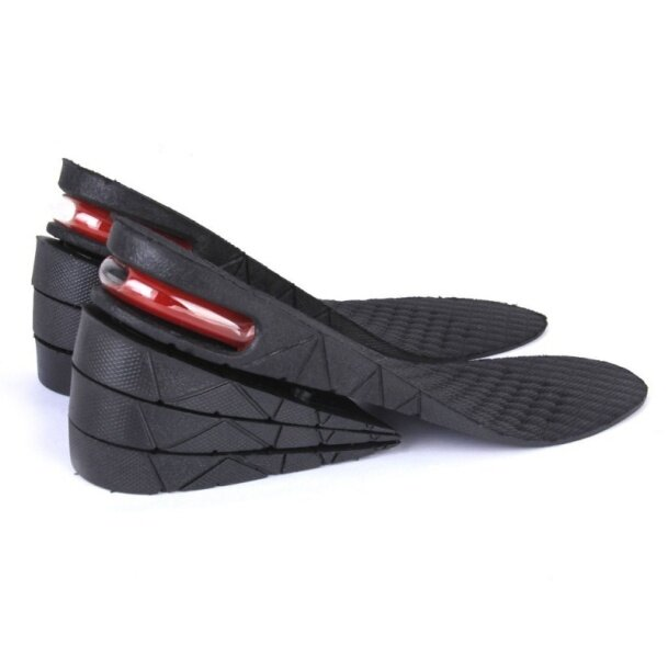 Unisex Elevator Shoe Insoles Air Cushion 4 Layers Heel Elevation Taller giá rẻ