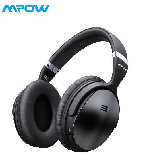 36eded137e0 Mpow H5 Active Noise Cancelling Bluetooth Headphones Over Ear, Foldable  Headset, Wireless Headphones,