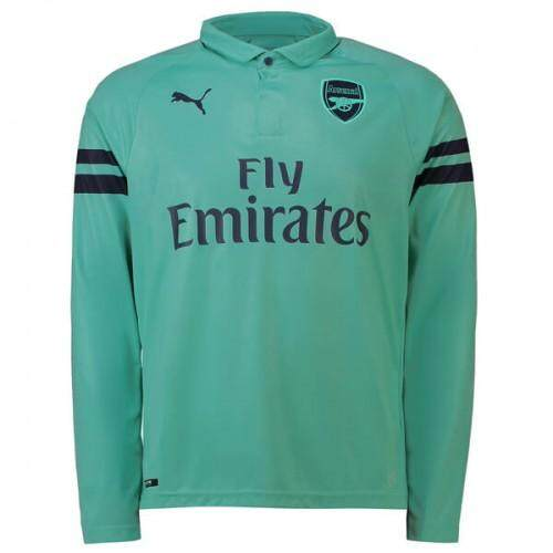 Arsenal Fc 3rd Away Football Jersey 2018/19 (long Sleeve) By T&l Trading.