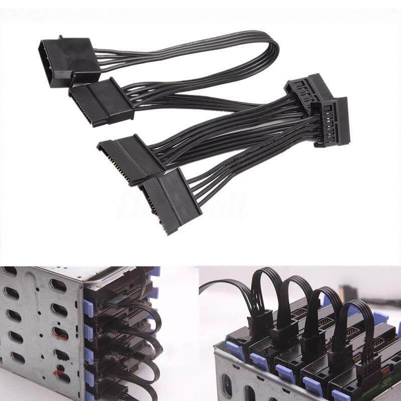 Bảng giá HOZZBY 4 Pin IDE Molex To 5x Ổ Cứng SATA Adapter Cứng Cáp Dây Bộ Đổi Nguồn Phong Vũ