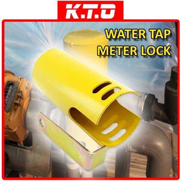 METAL OUTDOOR SECURITY ANTI THEFT WATER TAP METER LOCK / PENGUNCI METER AIR